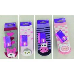 Chaussettes bébé ANTIDERAPANTES 43050477