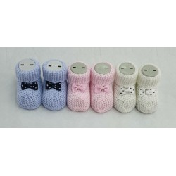 Chaussons HAPPY BABY ACRYLIQUES