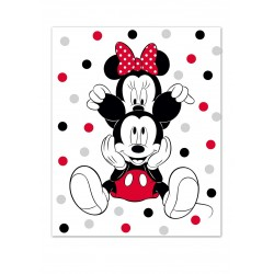 Couverture MINNIE&MICKEY AYM-032MCK-BL