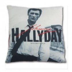 Coussin Johnny Hallyday 026JH