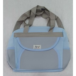 Sac à langer IDEAL BLEU GRIS