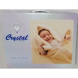 BABY SAC UNIS 500 GRIS CRYSTAL ESPAGNE