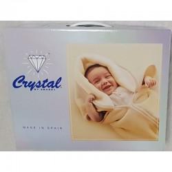 BABY SAC IMPRIME 630 GRIS CRYSTAL ESPAGNE