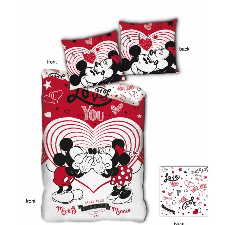 Housse de Couette MICRO MINNIE&MICKEY AYM-025MCK