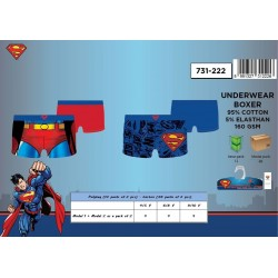 Pack de 2 Boxers SUPERMAN 731-222