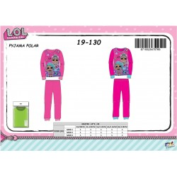 Pyjama Polaire 2 Pièces LOL 19-130