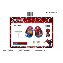 Pantoufles SPIDERMAN SPSM13271