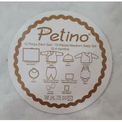 Coffret PETINO 10 PIECES COURONNE BLANC