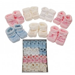 Chaussons HAPPY BABY MODELES MIXTES COULEUR 68030A01