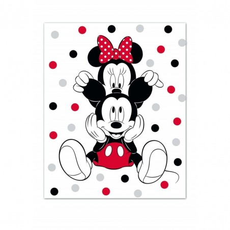 Plaid MICKEY&MINNIE AYM-032MCK-PF
