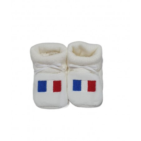 Chaussons HAPPY BABY DRAPEAU FRANCE