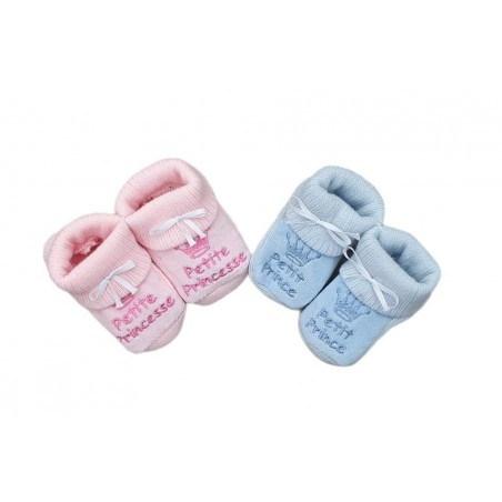 Chaussons - HAPPY BABY PRINCE/PRINCESSE COULEURS