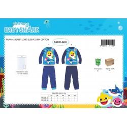 Pyjama Coton 2 Pièces BABY SHARK BAB21-0485