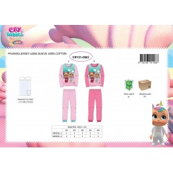 Pyjama Coton 2 Pièces CRY BABIES CRY21-0503