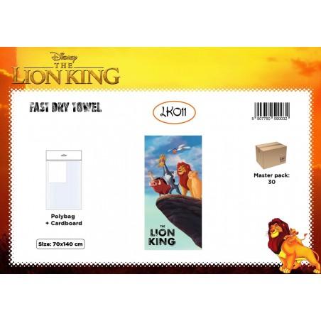 Serviette MICRO ROI LION LK011