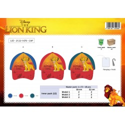 Casquette ROI LION LK2122-1470