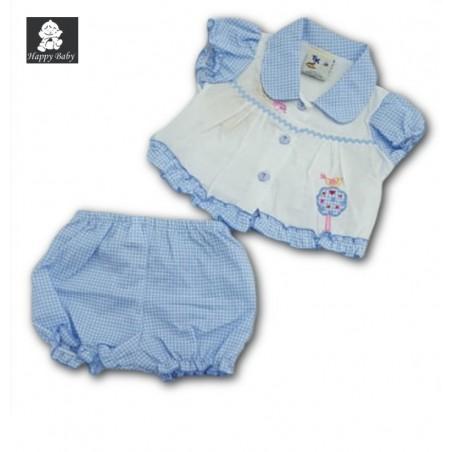 Ensemble 2 pièces 6033/1185 Happy Baby