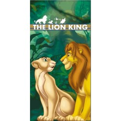 Serviette MICRO ROI LION LK010