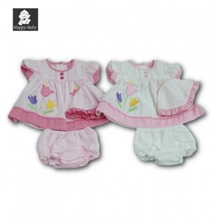 Ensemble 3 pièces DRS/F1509 Happy Baby