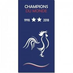 Serviette FRANCE CHAMPIONS...